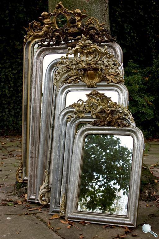 antieke spiegels antieke spiegel antieke franse. Black Bedroom Furniture Sets. Home Design Ideas